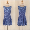 Glamorousuk Swallow Print dress Size Uk12