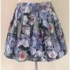 Topshop Floral Skirt Size UK 12