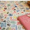 ผ้าสักหลาดเกาหลี stamp ขนาด 45x30 cm/ชิ้น (Pre-order)