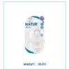 จุกนม biomimic ฐานกว้าง Size M pack 2 ยี่ห้อ Natur