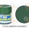 C302 Green FS-34092 Semi-Gloss 10ml