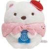 ตุ๊กตาจิ๋ว Sumikko Gurashi หมีขาวท่องเที่ยว SS