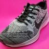 รองเท้า Nike Flyknit Racer เกรด AAA สีเทา