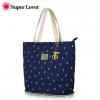 กระเป๋าเป้ยี่ห้อ Super Lover Korean bag canvas คลาสสิกดอกทิวลิปดอกกระเป๋าสะพายความจุขนาดใหญ่ (Preorder)