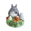 กล่องดนตรีเซรามิก My Neighbor Totoro (โตโตโร่นั่งกิน)