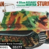 TA35177 German 38cm Assault Mortar Sturmtiger 1/35