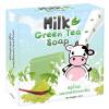 Milk Green Tea Soap 65 g. สบู่น้ำนม ผสมสารสกัดจากชาเขียว