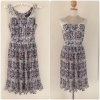 Dorothyperkins Floral Dress Size Uk8-uk10