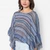 เสื้อเบลาส์ Aztec Pleated Kimono Sleeves