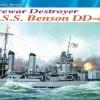 DRA1034 USS BENSON DD-421 1940 (1/350)