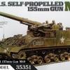 TA35351 U.S.155mm Self-propelled Artillery M40 1/35