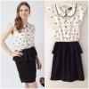 ํYumi Black and white Dress Size uk S