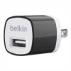 หัวชาร์จบ้าน belkin 1.0 แอมป์ (สีดำ)