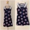 Miss selfridge Bird Navy shit Dress size uk8-uk10