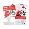 Tako Pack 3 Steps Blackhead Clear Solution แผ่นกำจัดสิวเสี้ยนบริเวณ T-zone