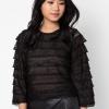 เสื้อเบลาส์ Layer Knitted