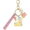 พวงกุญแจเหล็ก Sumikko Gurashi สีชมพู