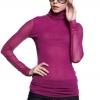 เสื้อเบลาส์ Heap collar primer (Rose L)
