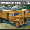 AC13404 WWII GROUND VEHICLE SET- 5 GERMAN CARGO TRUCK(Early&Late) (1/72)