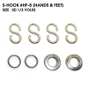 S-HOOK : HF-8 (HANDS & FEET) size SD1/3