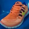 รองเท้า Nike Free Run 5.0 สีส้ม/เขียว