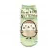 ถุงเท้า Sumikko Gurashi นก สีเขียว
