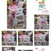 เก้าอี้ทานข้าวเด็ก อเนกประสงค์ 4 in 1
