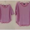 เสื้อ สีชมพู ยี่ห้อ topshop uk12