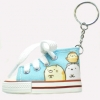 พวงกุญแจรองเท้า Sumikko Gurashi สีฟ้า
