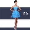 (เช่าชุดราตรี-สุขุมวิท105) ชุดราตรี <สีฟ้า> รหัสสินค้า LS-T2EVS0577