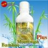 Bamboo Mouthwash Plus 300 ml. แบมบู เมาท์วอช พลัส น้ำยาบ้วนปาก สูตรใหม่
