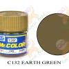 C132 Earth Green Flat 10ml