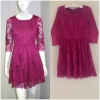 Warehouse pink Dress uk12