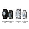 นาฬิกาผู้หญิง- ผู้ชาย Binary Matrix Digital LED Waterproof