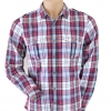 Topman Red Checked Shirt Size M