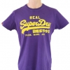 Superdry T-Shirt Real Superdry VGC-Purple Size M