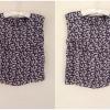 เสื้อ topshop floral crop top ไชส์ uk8