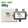 Sat-Ant รวมสัญญาณดาวเทียมและสัญญาณเสาอากาศทีวี dBy
