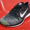 รองเท้า Nike Flyknit Racer เกรด AAA สีดำ Rainbow