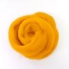 ใยขนแกะเกาหลี เกรดพรีเมี่ยม 004 สีเหลืองอ่อน ขนาด 50g/ก้อน (Pre-order)