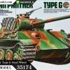 TA35174 Panther Type G Steel Wheel 1/35