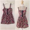 Dress ยี่ห้อ topshop floral dress พร้อมส่งตัวเดียวไชส์ uk8