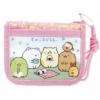 กระเป๋าสตางค์ห้อยคอ Sumikko Gurashi สีชมพู