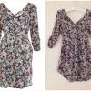 Floral print dress by miss selffridge สินค้าใหม่ พร้อมส่ง uk8
