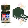 Enamel XF58 Olive Green 10ml
