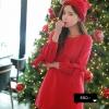 เสื้อคลุมท้องสีแดง (ผ้าหนา)