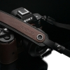 Gariz Leather Neck Strap : XS-CHLSNBR2 (Brown)