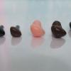 จมูกสามเหลี่ยม ขนาด 4.5mm , 6mm มี 3 สี เนื้อ น้ำตาล ดำ