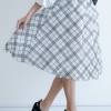 Mirror Dress's 3D Net Skirt - Linear