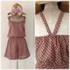 Topshop Polka dot Playsuit Size S
